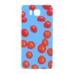 Tomatoes Fruite Slice Red Samsung Galaxy Alpha Hardshell Back Case by Mariart
