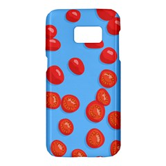 Tomatoes Fruite Slice Red Samsung Galaxy S7 Hardshell Case