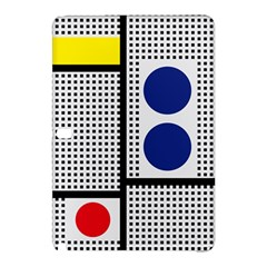 Watermark Circle Polka Dots Black Red Yellow Plaid Samsung Galaxy Tab Pro 12 2 Hardshell Case by Mariart