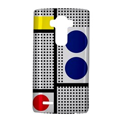 Watermark Circle Polka Dots Black Red Yellow Plaid Lg G4 Hardshell Case by Mariart