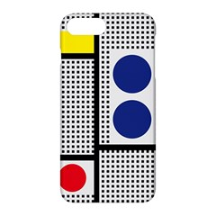 Watermark Circle Polka Dots Black Red Yellow Plaid Apple Iphone 7 Plus Hardshell Case by Mariart