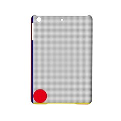 Watermark Circle Polka Dots Black Red Ipad Mini 2 Hardshell Cases by Mariart