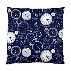 Time World Clocks Standard Cushion Case (two Sides) by Mariart
