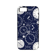 Time World Clocks Apple Iphone 5 Classic Hardshell Case (pc+silicone) by Mariart