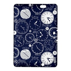 Time World Clocks Kindle Fire Hdx 8 9  Hardshell Case by Mariart