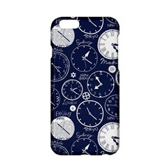 Time World Clocks Apple Iphone 6/6s Hardshell Case by Mariart