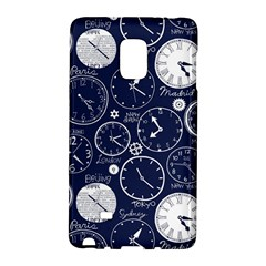 Time World Clocks Galaxy Note Edge by Mariart