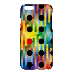 Watermark Circles Squares Polka Dots Rainbow Plaid Apple Iphone 6 Plus/6s Plus Hardshell Case by Mariart