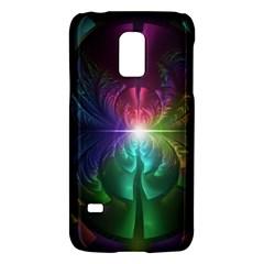 Anodized Rainbow Eyes And Metallic Fractal Flares Galaxy S5 Mini