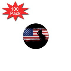 Honor Our Heroes On Memorial Day 1  Mini Magnets (100 Pack)  by Catifornia