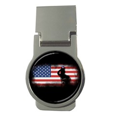 Honor Our Heroes On Memorial Day Money Clips (round)  by Catifornia
