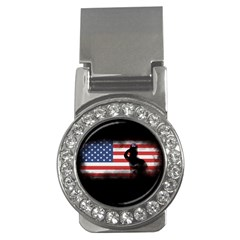 Honor Our Heroes On Memorial Day Money Clips (cz)  by Catifornia