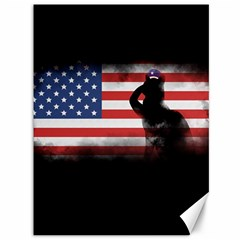 Honor Our Heroes On Memorial Day Canvas 36  X 48   by Catifornia