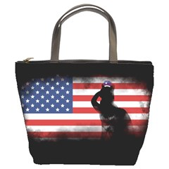 Honor Our Heroes On Memorial Day Bucket Bags by Catifornia