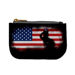 Honor Our Heroes On Memorial Day Mini Coin Purses by Catifornia