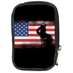 Honor Our Heroes On Memorial Day Compact Camera Cases by Catifornia