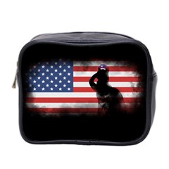 Honor Our Heroes On Memorial Day Mini Toiletries Bag 2 Side by Catifornia