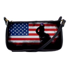 Honor Our Heroes On Memorial Day Shoulder Clutch Bags by Catifornia