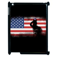 Honor Our Heroes On Memorial Day Apple Ipad 2 Case (black) by Catifornia
