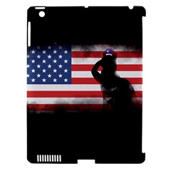 Honor Our Heroes On Memorial Day Apple Ipad 3/4 Hardshell Case (compatible With Smart Cover) by Catifornia