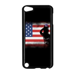 Honor Our Heroes On Memorial Day Apple Ipod Touch 5 Case (black) by Catifornia