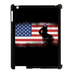Honor Our Heroes On Memorial Day Apple Ipad 3/4 Case (black) by Catifornia