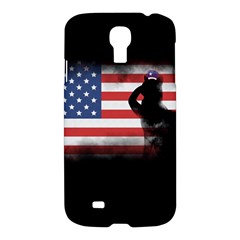 Honor Our Heroes On Memorial Day Samsung Galaxy S4 I9500/i9505 Hardshell Case by Catifornia