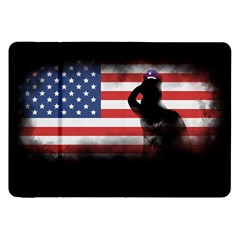Honor Our Heroes On Memorial Day Samsung Galaxy Tab 8 9  P7300 Flip Case by Catifornia