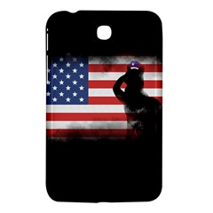 Honor Our Heroes On Memorial Day Samsung Galaxy Tab 3 (7 ) P3200 Hardshell Case  by Catifornia