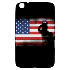 Honor Our Heroes On Memorial Day Samsung Galaxy Tab 3 (8 ) T3100 Hardshell Case  by Catifornia