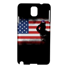 Honor Our Heroes On Memorial Day Samsung Galaxy Note 3 N9005 Hardshell Case by Catifornia