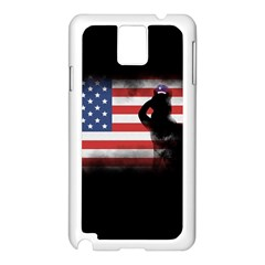 Honor Our Heroes On Memorial Day Samsung Galaxy Note 3 N9005 Case (white) by Catifornia