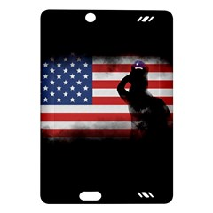 Honor Our Heroes On Memorial Day Amazon Kindle Fire Hd (2013) Hardshell Case by Catifornia