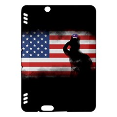 Honor Our Heroes On Memorial Day Kindle Fire Hdx Hardshell Case by Catifornia