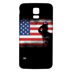 Honor Our Heroes On Memorial Day Samsung Galaxy S5 Back Case (white) by Catifornia