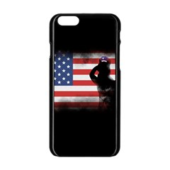 Honor Our Heroes On Memorial Day Apple Iphone 6/6s Black Enamel Case by Catifornia