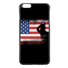 Honor Our Heroes On Memorial Day Apple Iphone 6 Plus/6s Plus Black Enamel Case by Catifornia