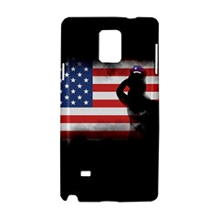 Honor Our Heroes On Memorial Day Samsung Galaxy Note 4 Hardshell Case by Catifornia