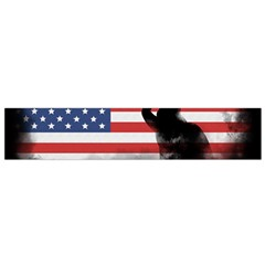 Honor Our Heroes On Memorial Day Flano Scarf (small) by Catifornia