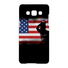 Honor Our Heroes On Memorial Day Samsung Galaxy A5 Hardshell Case  by Catifornia