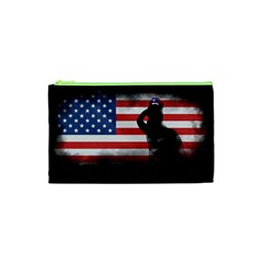 Honor Our Heroes On Memorial Day Cosmetic Bag (xs) by Catifornia