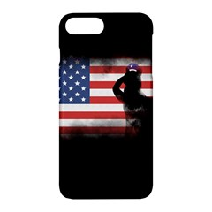Honor Our Heroes On Memorial Day Apple Iphone 7 Plus Hardshell Case by Catifornia
