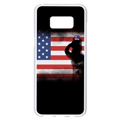 Honor Our Heroes On Memorial Day Samsung Galaxy S8 Plus White Seamless Case by Catifornia