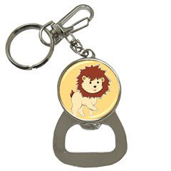 Happy Cartoon Baby Lion Button Necklaces by Catifornia