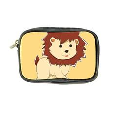 Happy Cartoon Baby Lion Coin Purse by Catifornia