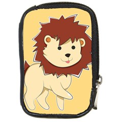 Happy Cartoon Baby Lion Compact Camera Cases by Catifornia