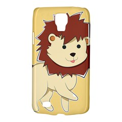 Happy Cartoon Baby Lion Galaxy S4 Active by Catifornia
