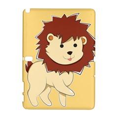 Happy Cartoon Baby Lion Galaxy Note 1 by Catifornia