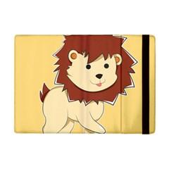 Happy Cartoon Baby Lion Ipad Mini 2 Flip Cases by Catifornia