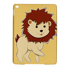 Happy Cartoon Baby Lion Ipad Air 2 Hardshell Cases by Catifornia